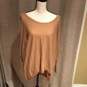 Camel tunic sweater. Trouve for Nordstrom. Small